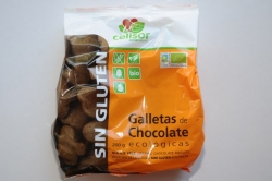 Galletas Chocolate Sin Gluten